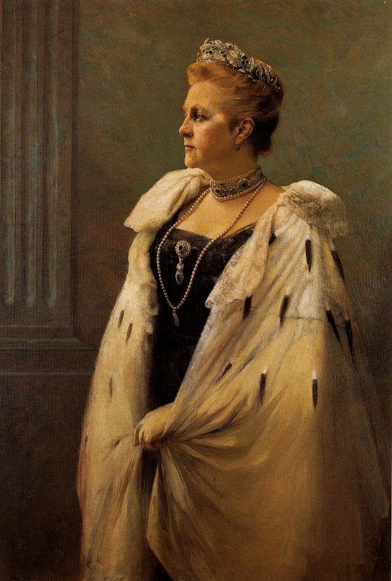 Ольга Константиновна, жена греческого короля Георга, сестра Николая.